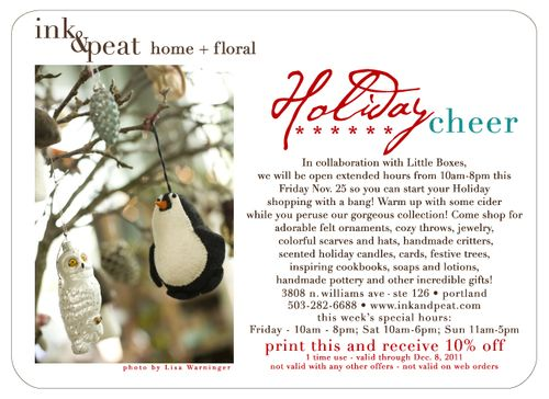 Holiday 1 emailer 2011