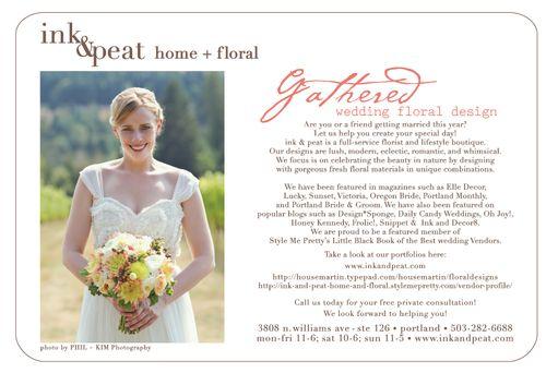 Wedding emailer spring 2013