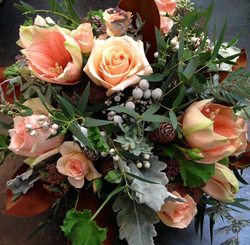 Peach flowers 2