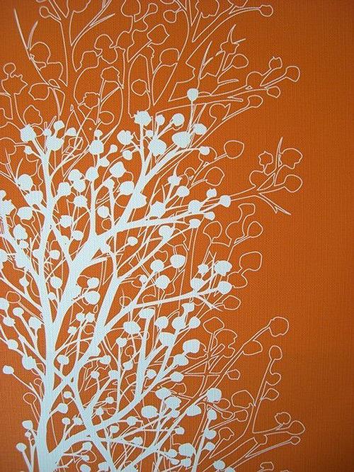 Orangesilhouette